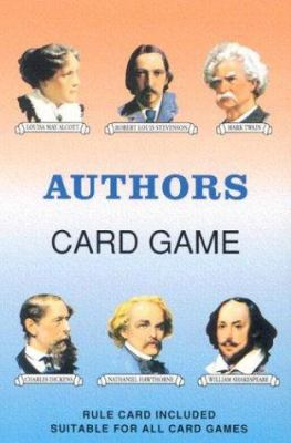 Authors Card Game [With Rule Card Suitable for All Card Games] 9780880791601