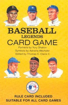Baseball Legends Card Game [With Rule Card Suitable for All Card Games] 9780880794084