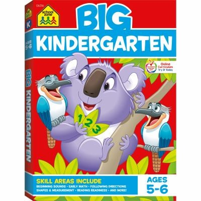 Color Big Get Ready Kindergarten