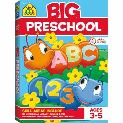 Color Big Get Ready Preschool 9780887431456