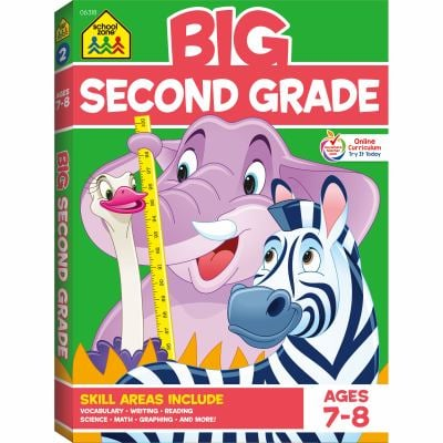 Color Big Get Ready Second Grade 9780887431487