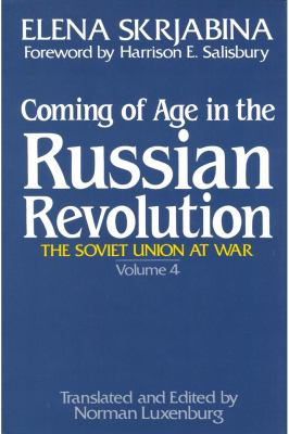 Coming of Age in the Russian Revolution 9780887380341