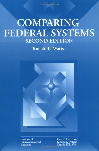 Comparing Federal Systems 9780889118355