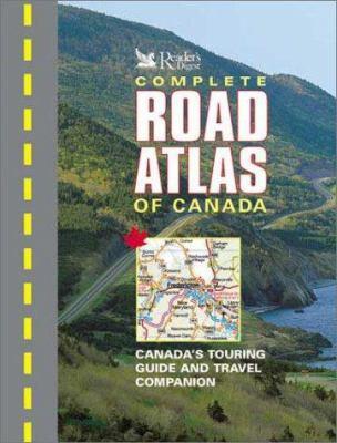 Complete Road Atlas of Canada 9780888507471