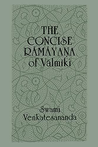 Concise Ramayana Valmiki 9780887068638
