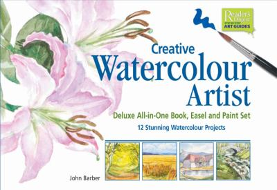 Creative Watercolour Artist: Deluxe All-In-One Book, Easel and Paint Set, 12 Stunning Watercolour Projects [With Book and Colour Mixing Wheel and Pain 9780888508782