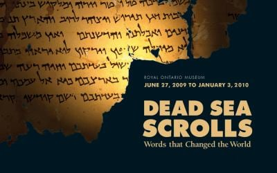 Dead Sea Scrolls: Words That Changed the World 9780888544704
