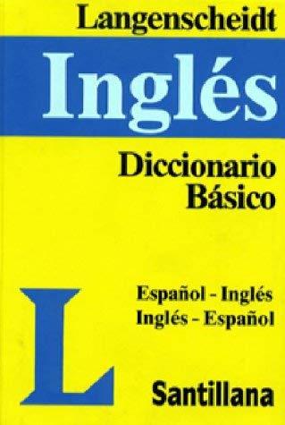 Diccionario Basico Langenscheidt: Espanol-Ingles, Ingles-Espanol 9780887290831