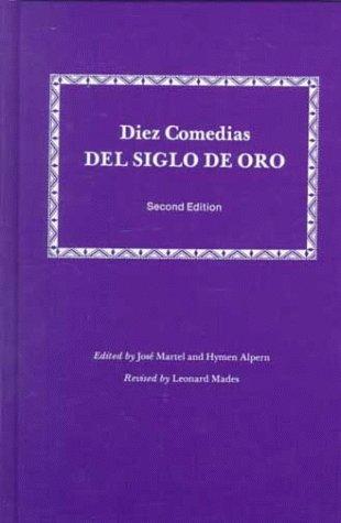 Diez Comedias del Siglo de Oro 9780881331196
