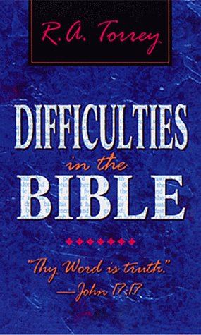 Difficulties in the Bible: 9780883683019