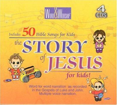 Disc-CEV Story of Jesus for Kids (4 CD) 9780883688342
