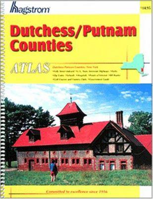 Dutchess/Putnam Counties, NY Atlas 9780880977678