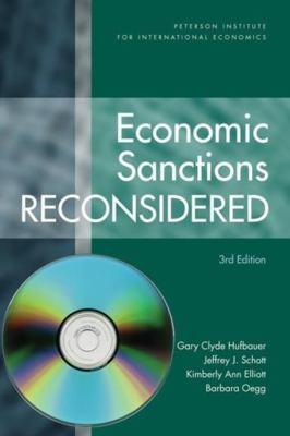 Economic Sanctions Reconsidered [With CDROM] 9780881324310