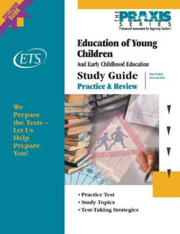 Education of Young Children Study Guide 9780886852498