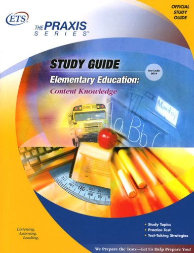 Elementary Education: Content Knowledge Study Guide 9780886852412