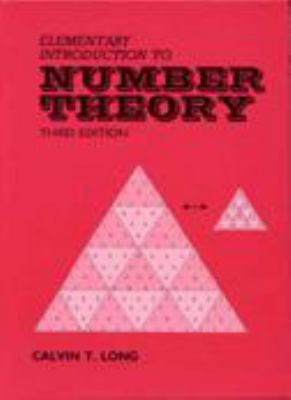 Elementary Introduction to Number Theory 9780881338362