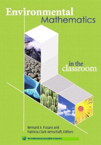 Environmental Mathematics Clas 9780883857144