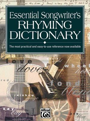 Essential Songwriter's Rhyming Dictionary: Pocket Size Book 9780882847290