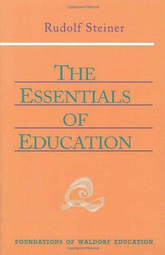 Essentials of Education 9780880104128