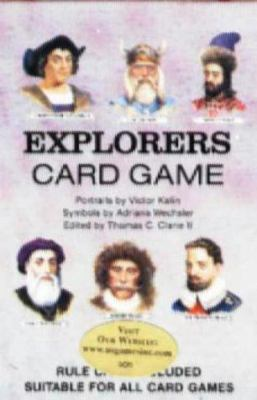 Explorers Card Game [With Rule Card Suitable for All Card Games]