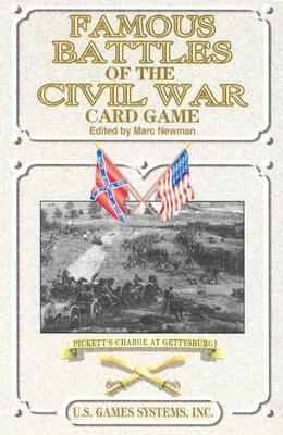 Famous Battles of the Civil War Card Game: Pickett's Charge at Gettysburg 9780880791786