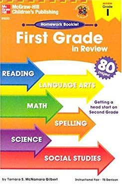 First Grade in Review Homework Booklet 9780880129503