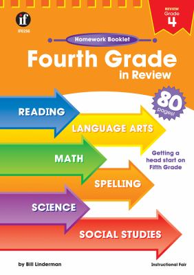 Fourth Grade in Review Homework Booklet 9780880129534