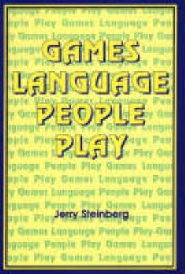 Games Language People Play 9780887510175