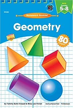 Geometry Homework Booklet, Grades 5 - 8 9780880129473