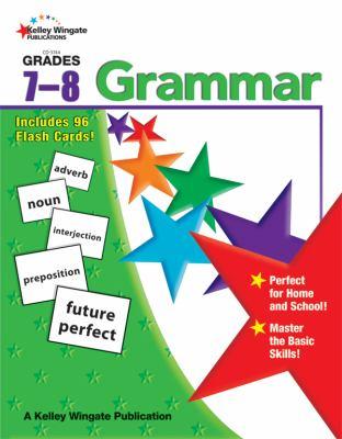 Grammar, Grades 7-8 9780887245008
