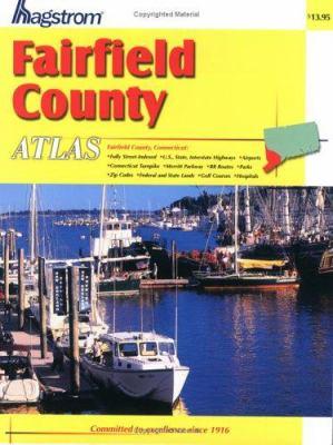 Hagstrom Fairfield County Atlas Connecticut 9780880970143