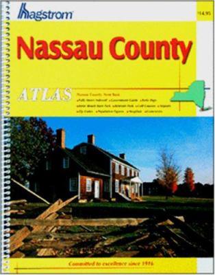 Hagstrom Nassau County Atlas New York 9780880977500