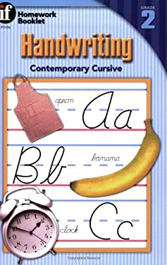 Handwriting Contemporary Cursive Homework Booklet 9780880129282