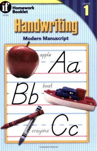 Handwriting Modern Manuscript Homework Booklet 9780880129275