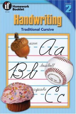 Handwriting Traditional Cursive Homework Booklet 9780880129268