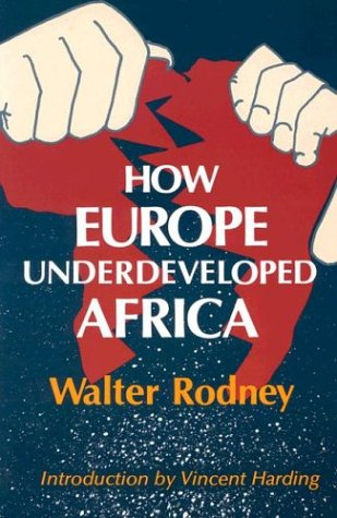 How Europe Underdeveloped Africa 9780882580968