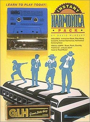 Instant Harmonica Pack [With *] 9780881888485