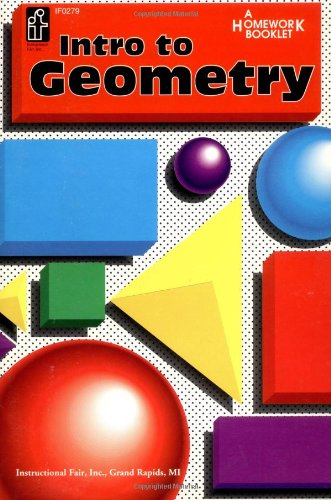 Introduction to Geometry Homework Booklet, Grades 5 to 8 9780880129466