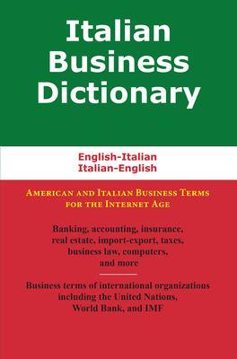 Italian Business Dictionary 9780884003199