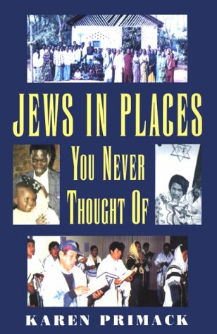 Jews in Places You Never Thought of 9780881256086