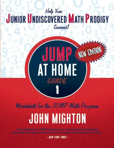 JUMP at Home, Grade 1: Worksheets for the JUMP Math Program 9780887849701