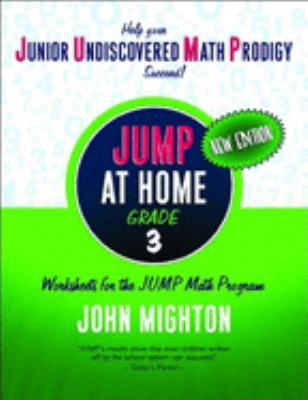 Jump at Home: Grade 3: Worksheets for the Jump Math Program 9780887847875