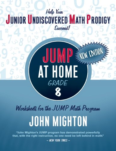JUMP at Home, Grade 8: Worksheets for the JUMP Math Program 9780887849664