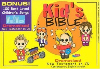 Kids New Testament-Cev-Dramatized 9780883688243