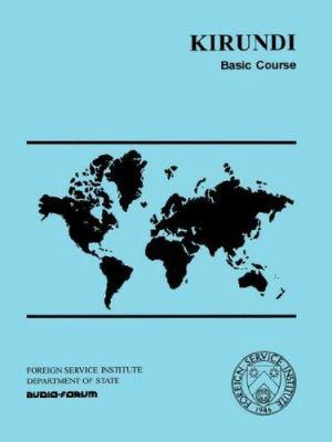 Kirundi Basic Course 9780884326441