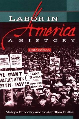Labor in America: A History 9780882959795