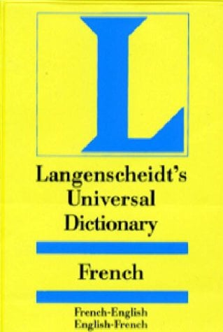 Langenscheidt Universal Dictionary French/English-English/French