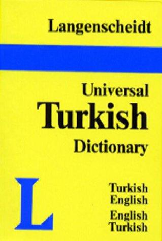 Langenscheidt Universal Dictionary Turkish/English-English/Turkish 9780887291678