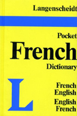 Langenscheidt's Pocket Dictionary French 9780887291043
