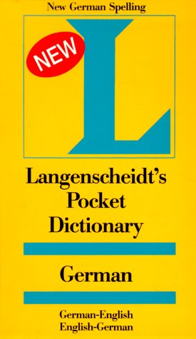 Langenscheidt's Pocket Dictionary German: German-English, English-German 9780887291210